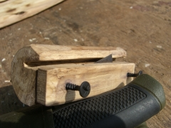 A Tool to make outer bark even widthed